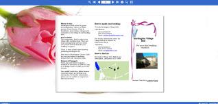 Interactive Wedding Leaflet
